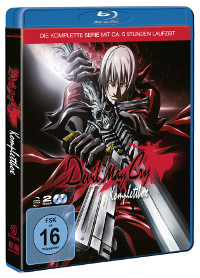 Blu-ray-Cover von Devil May Cry | Foto: (c) 2007 CAPCOM CO., LTD.DMC Committee.