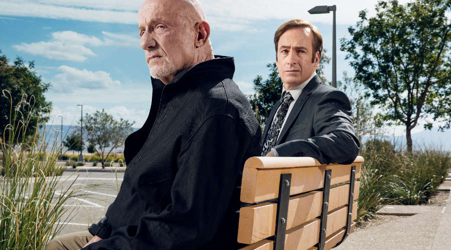 Saul Goodman und Mike Ehrmantraut in Better Call Saul