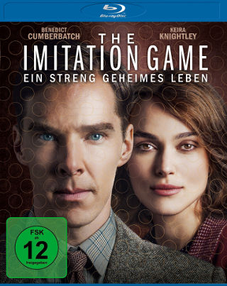 The Imitation Game Cover Blu-ray