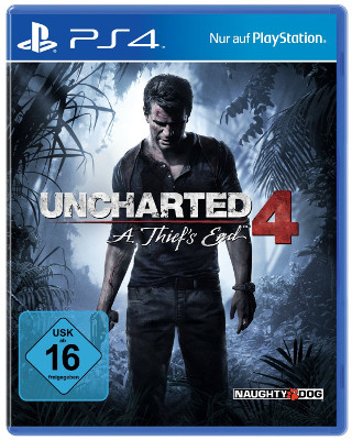 Der Packshot zu Uncharted 4: A Thief´s End