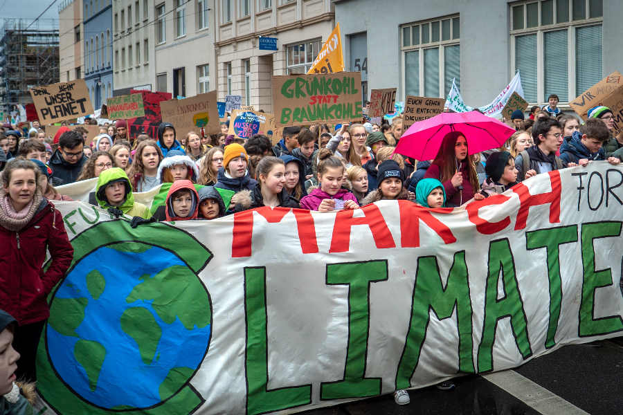Klimastreik 2019 Demonstration
