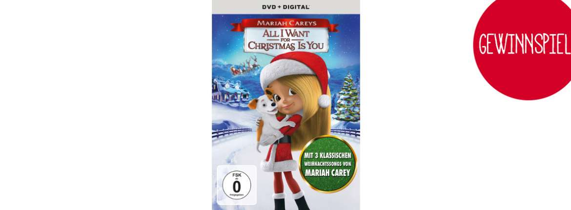 Mariah Carey All I want for Christmas Gewinnspiel