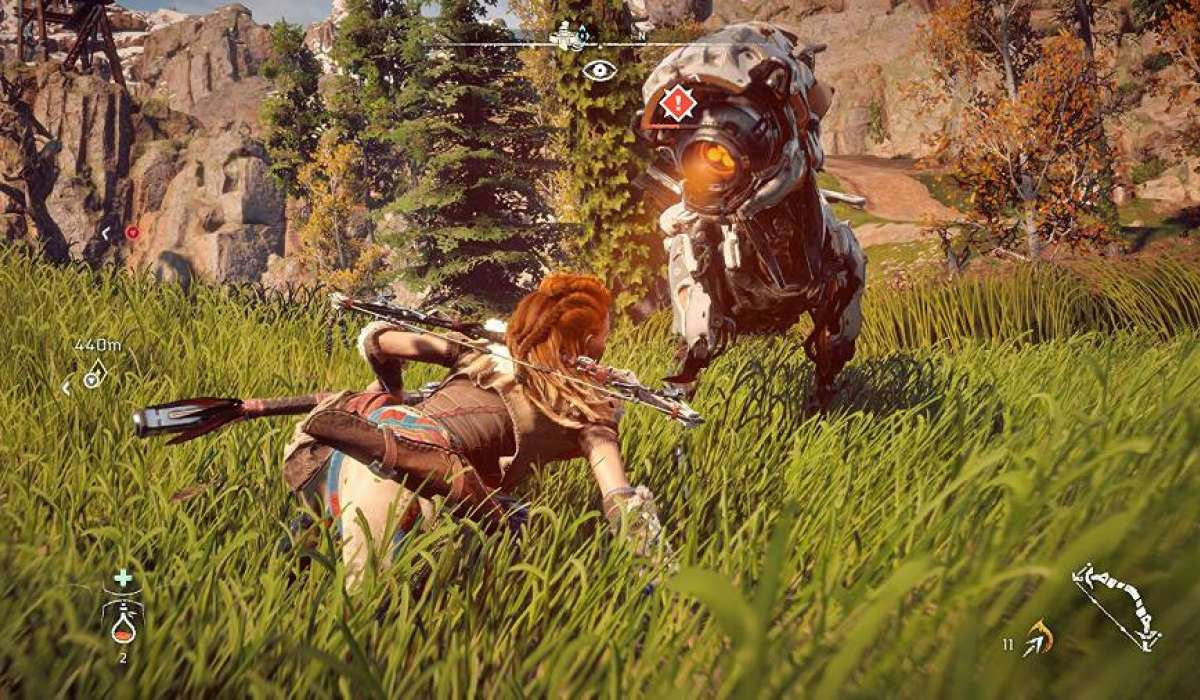 Horizon Zero Gameplay