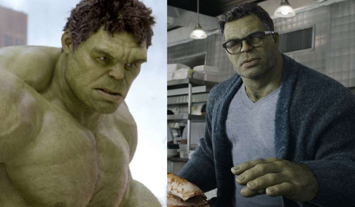 Hulk Then and Now