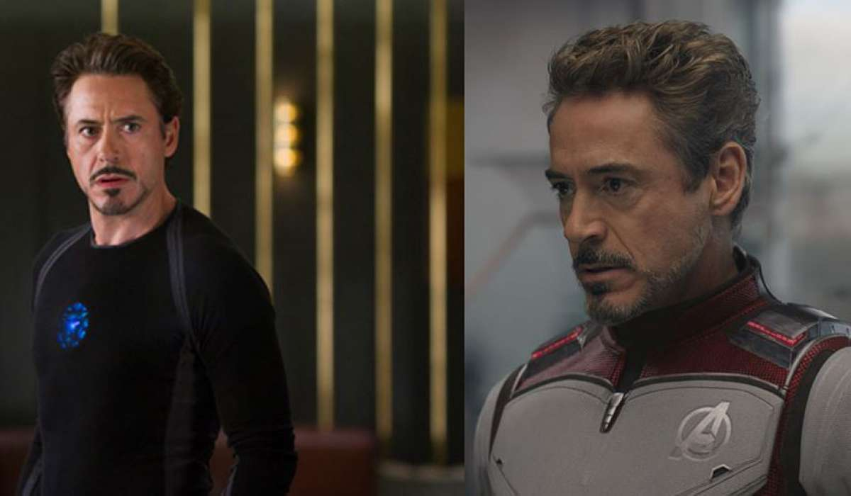 Iron Man Then and Now