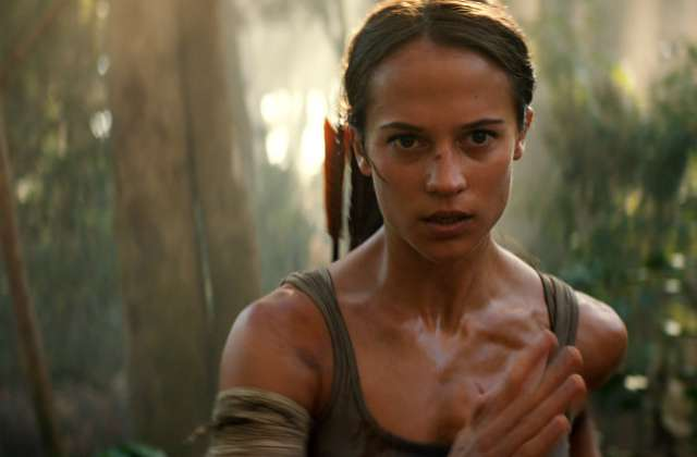 Alicia Vikander in Tomb Raider