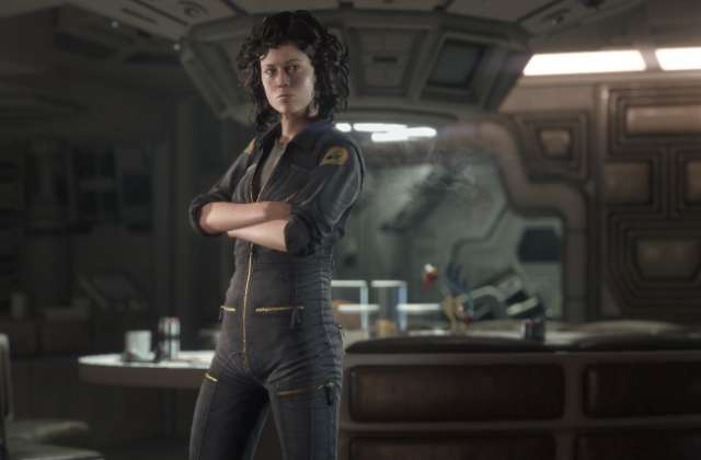 Alien Isolation Ellen Ripley