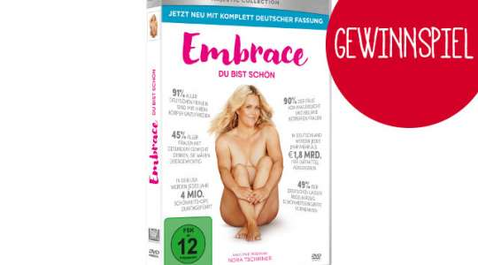 Embrace DVD Cover