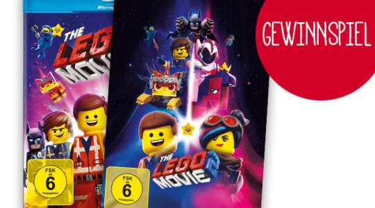 "Verlosung: DVDs und Blu-rays von ""THE LEGO MOVIE 2"""