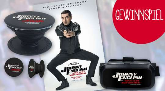 "Verlosung ""Johnny English-Man lebt nur dreimal"""